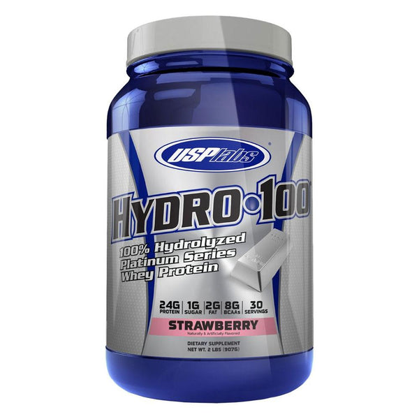 USP Labs Hydro 100 30 Servings Protein Powders USPLABS Strawberry  (4385132970007)