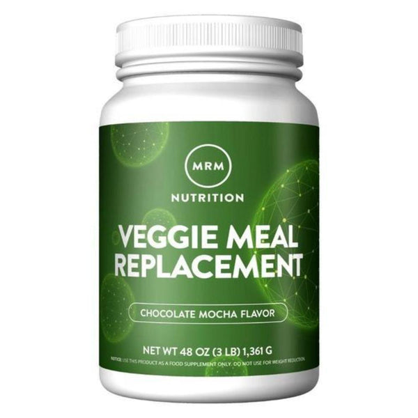 MRM Veggie Meal Replacement 3lbs Meal Replacement Powders MRM Chocolate Mocha