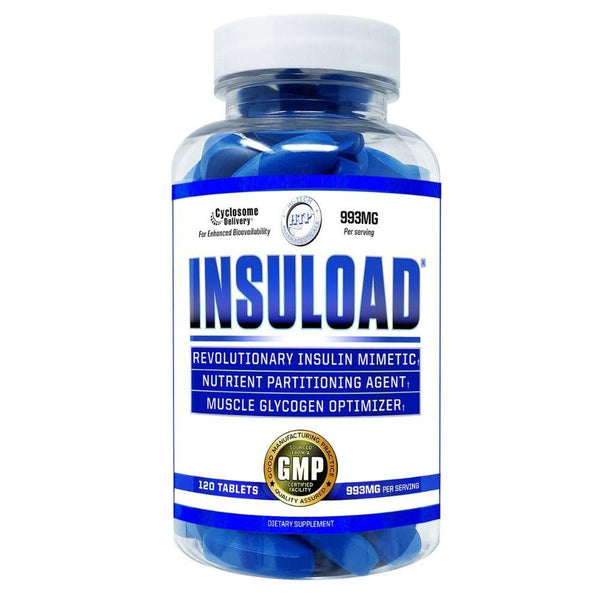 Hi-Tech Pharmaceuticals Insuload 120 Tablets Digestive Health Hi-Tech Pharmaceuticals  (4803874684951)