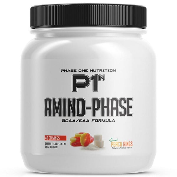 Phase One Nutrition Amino-Phase 40 Servings Amino Acids Phase One Nutrition Peach Rings  (4478944346135)