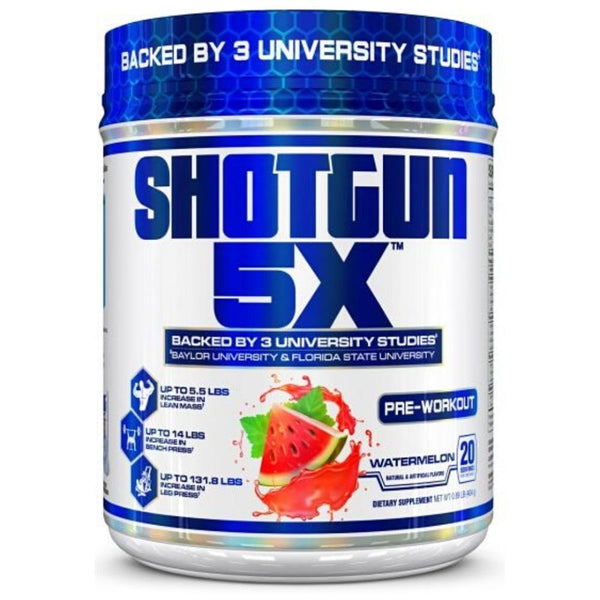 VPX Shotgun 5X 20 Servings Pre-Workout VPX Watermelon  (10981253059)