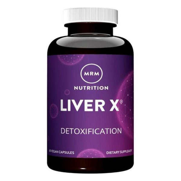 MRM Liver X 650mg 60 Capsules Specialty Health Products MRM