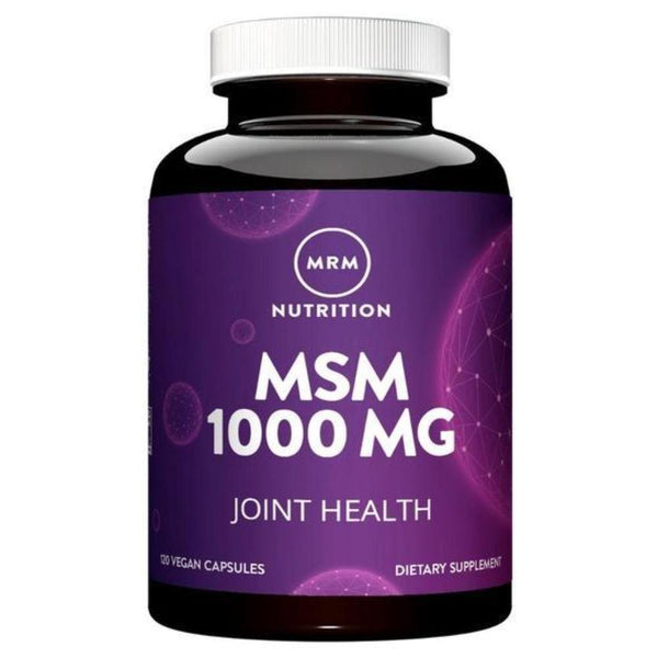 MRM MSM 1,000mg 120 Capsules Joint Aid MRM
