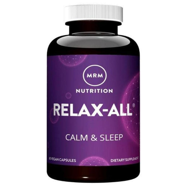MRM Relax-All 60 Capsules Specialty Health Products MRM