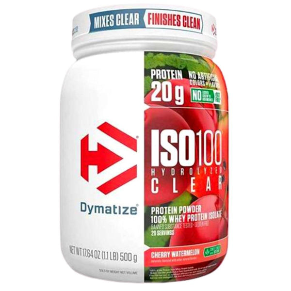 Dymatize Iso-100 Clear 20 Servings Protein Powders Dymatize Cherry Watermelon  (4503742939159)