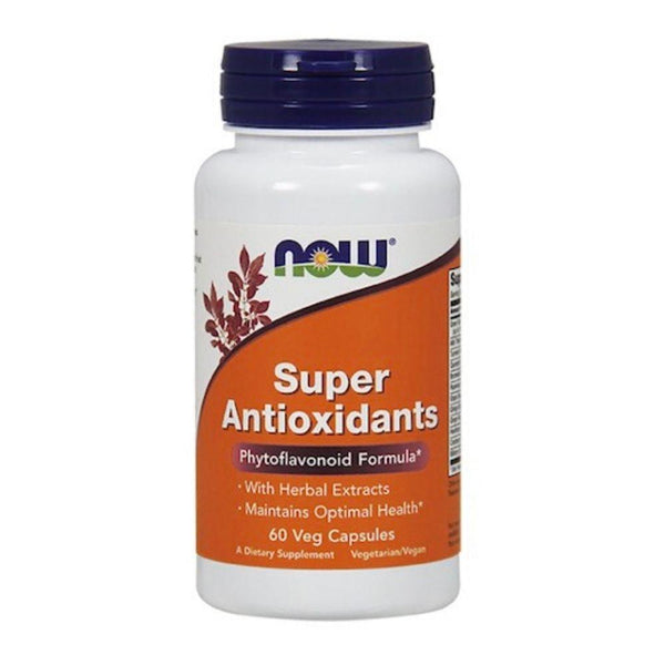 Now Foods Super Antioxidants 60 Capsules 01/19 Expired Now Foods  (4393622241303)