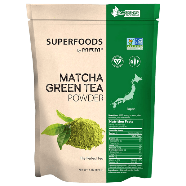 MRM Raw Matcha Green Tea Powder 42 Servings Specialty Health Products MRM