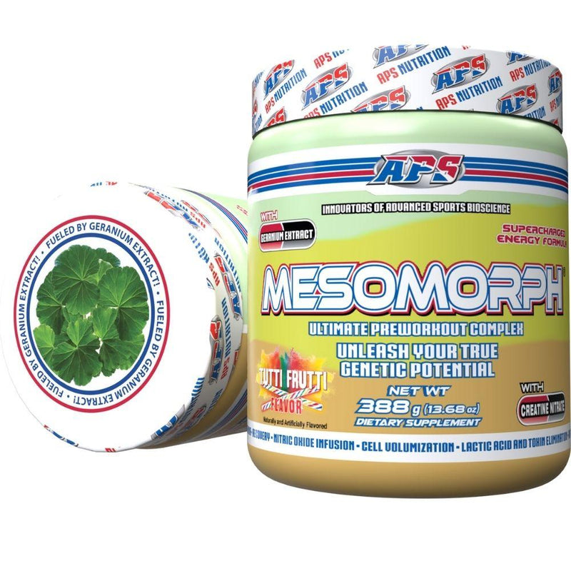 APS Nutrition Mesomorph 25 Servings (New Formula) Pre-Workout APS Nutrition Tutti Frutti  (9797598083)