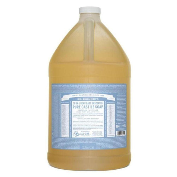 Dr. Bronner's Pure Castille Liquid Baby Mild Soap 128 Oz Specialty Health Products Dr. Bronner's  (3487846301719)