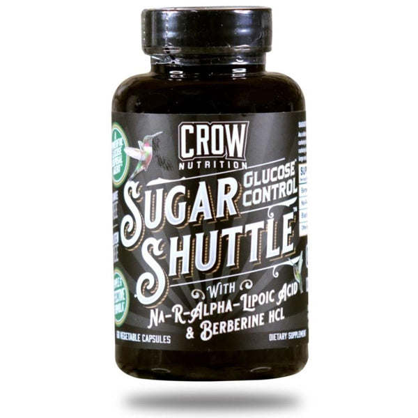 Crow Nutrition Sugar Shuttle 60 Capsules Digestive Health Crow Nutrition  (4527419818007)