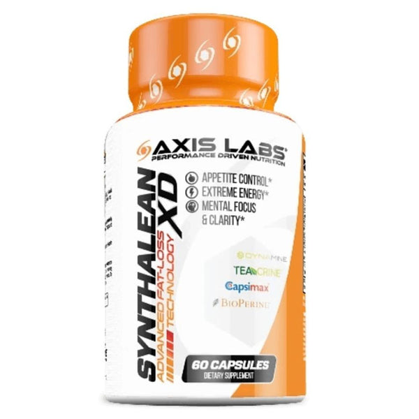 Axis Labs Synthalean XD 60 Capsules Fat Burner Axis Labs  (1551072428055)