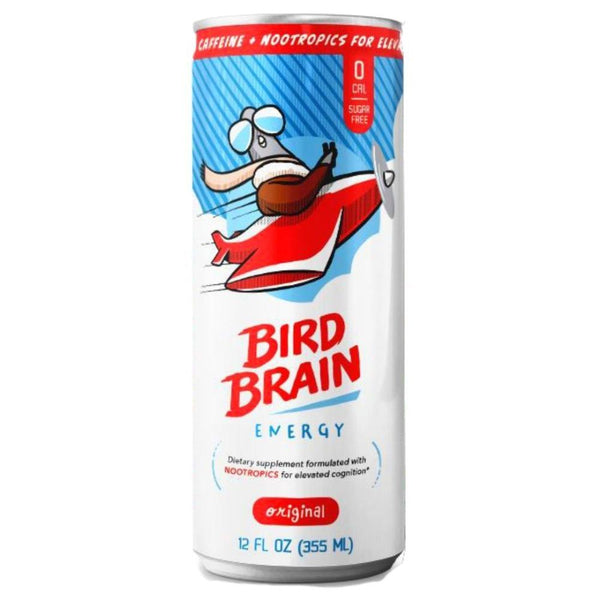 Bird Brain Energy 12/Case Drinks Bird Brain Original  (4474637549591)