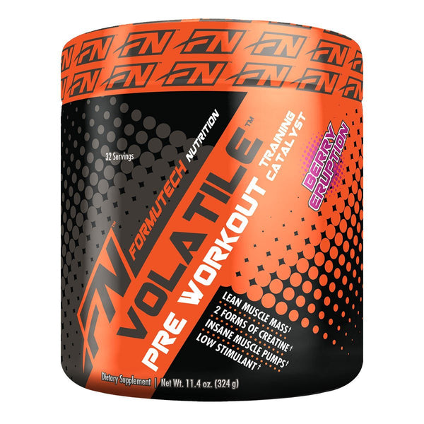 Formutech Nutrition Volatile™ Pre Workout Pre-Workout Formutech Nutrition Berry Eruption 324g  (9797608963)