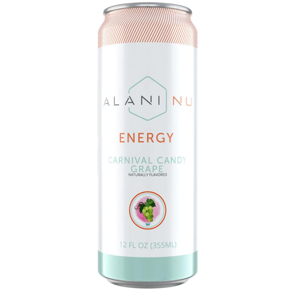 Alani Nu Energy RTD 12/Case Drinks Alani Nu Carnival Candy Grape  (4381868458007)