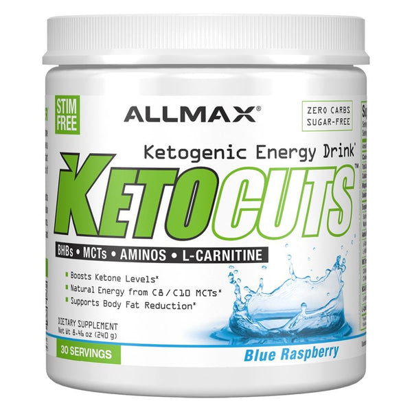 Allmax Nutrition Keto Cuts 240G Fat Burner Allmax Nutrition BLUE RASPBERRY  (1492432125975)