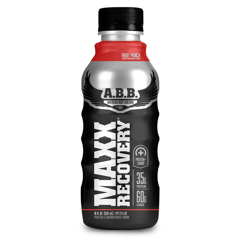 American BodyBuilding Maxx Recovery 12/Case Drinks American BodyBuilding Fruit Punch  (1471051661335)
