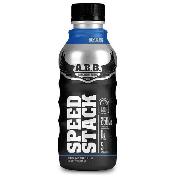 American BodyBuilding Speed Stack 12/Case Drinks American BodyBuilding Berry Bomb  (1471064637463)