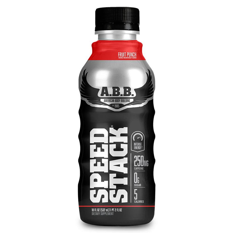 American BodyBuilding Speed Stack 12/Case Drinks American BodyBuilding Fruit Punch  (1471064637463)