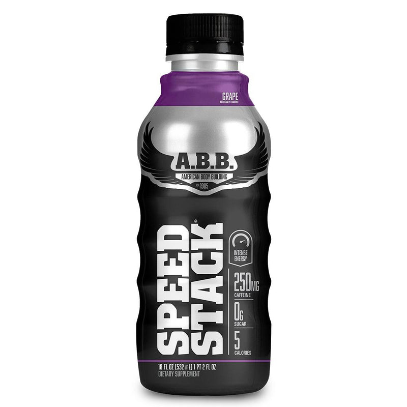 American BodyBuilding Speed Stack 12/Case Drinks American BodyBuilding Grape  (1471064637463)