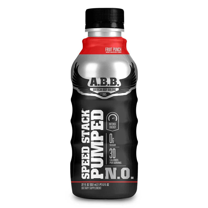 American BodyBuilding Speed Stack Pumped N.O. 12/CS Drinks American BodyBuilding Fruit Punch  (1471064702999)
