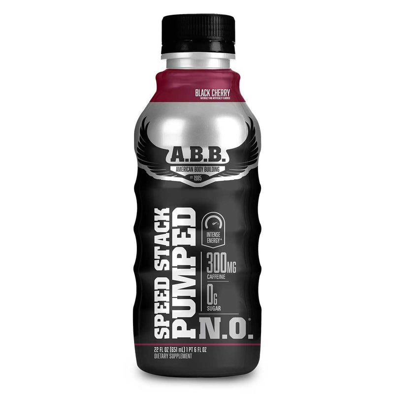 American BodyBuilding Speed Stack Pumped N.O. 12/CS Drinks American BodyBuilding Black Cherry  (1471064702999)