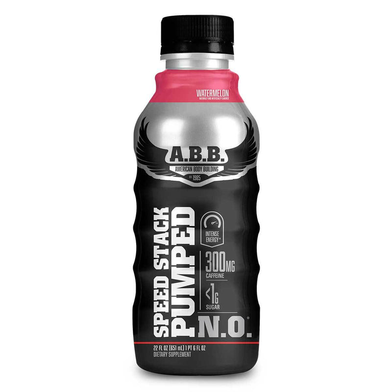 American BodyBuilding Speed Stack Pumped N.O. 12/CS Drinks American BodyBuilding Watermelon  (1471064702999)