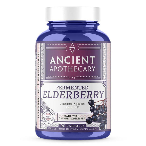 Ancient Apothecary Elderberry 90C Herbs Ancient Apothecary  (522090872865)