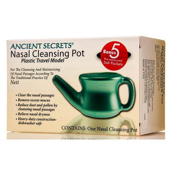 Ancient Secrets Nasal Pot Travel 1 Unit Specialty Health Products Ancient Secrets  (3400681652247)