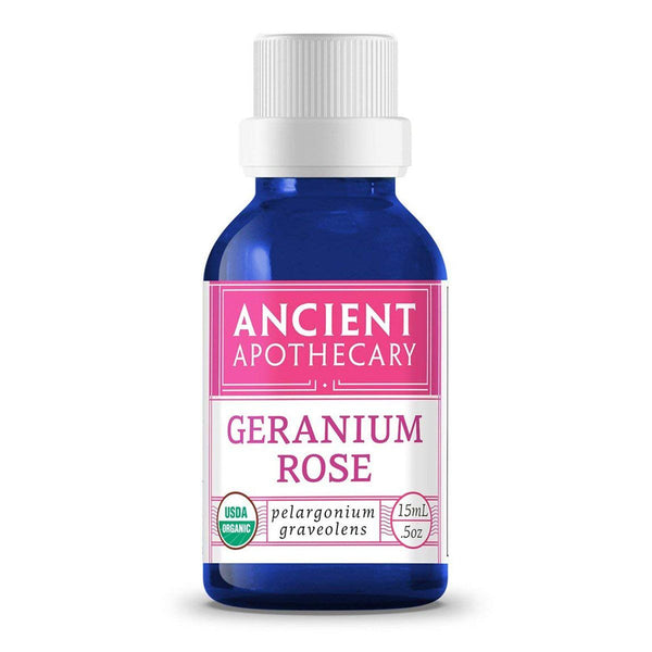 Ancient Apothecary Geranium Rose Oil .5 Oz essential oils Ancient Apothecary  (522090446881)