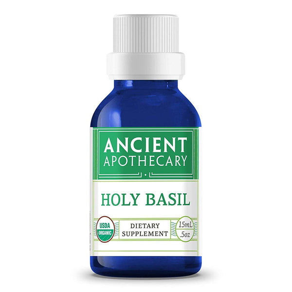 Ancient Apothecary Holy Basil Oil .5 OZ Personal Care& - Hygeine Ancient Apothecary  (1444033069079)
