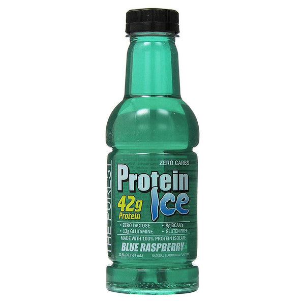 ANSI Protein Ice 12/Box Foods Juices ANSI BLUE RASPBERRY  (1487970730007)