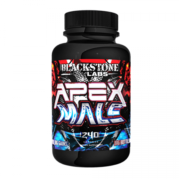 Blackstone Labs Apex Male 240 Caps Sports Nutrition/Testosterone Boosters Blackstone Labs  (10030629507)