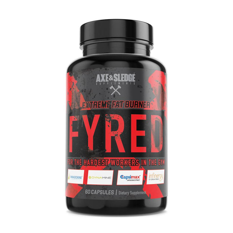 Axe & Sledge Fyred 60C Fat Burner AXE & SLEDGE  (3937420607511)
