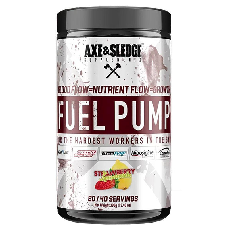 Axe & Sledge Fuel Pump 40 SV Store Stock Only AXE & SLEDGE STRAWBERRY LEMONADE  (3825345822743)