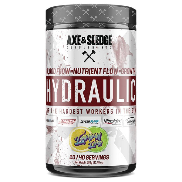 Axe & Sledge Hydraulic 40 SV Sports Performance Recovery AXE & SLEDGE LEMON LIME  (3825346183191)