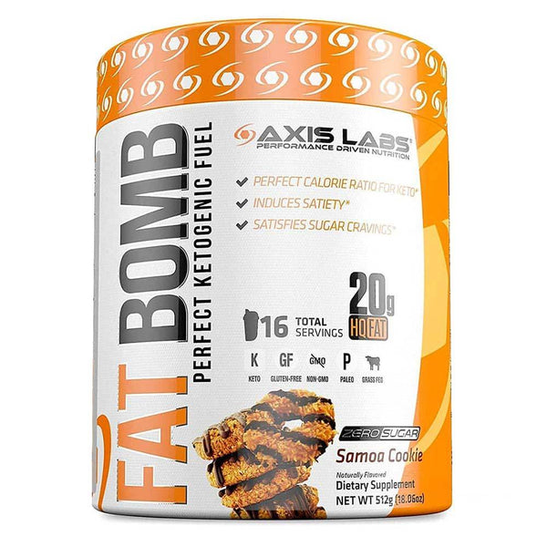 Axis Labs Fat Bomb Samoa Cookie 16 Servings Foods & - Juices Axis Labs  (1571053142039)