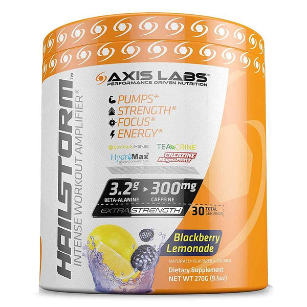 Axis Labs Hailstorm 30 Servings Blackberry Lemonade Sports Performance Recovery Axis Labs  (1571070181399)