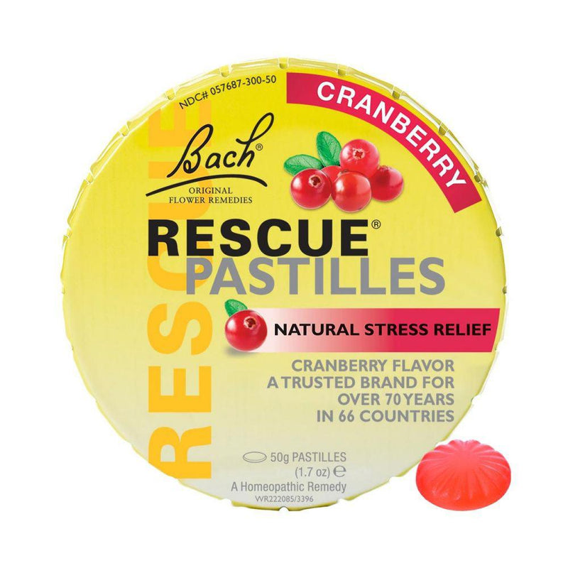 Bach Rescue Remedy Pastilles Cranberry Personal Care Bach  (10030580867)