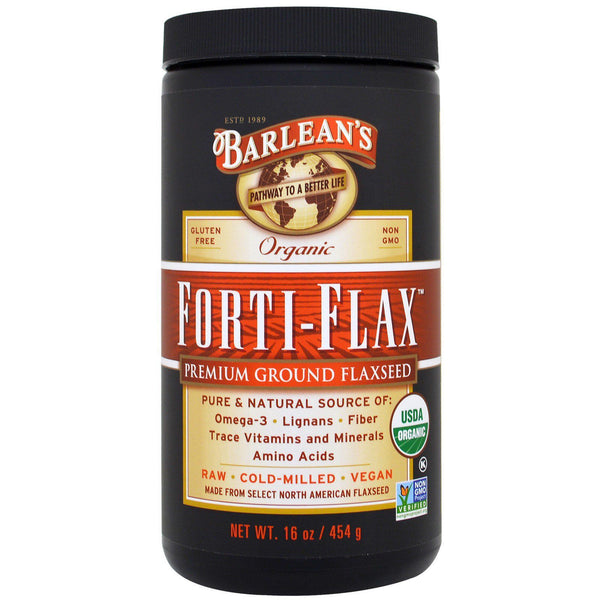 Barlean's Forti-Flax 16 Oz Essential Fatty Acids Oils Barlean's  (574316511265)