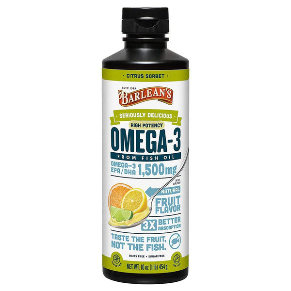 Barlean's Omega Swirl Citrus 16 Oz Essential Fatty Acids & - Oils Barlean's  (1381427675159)