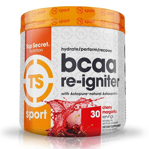 BCAA Re-Igniter 30 Servings Amino Acids Top Secret Nutrition Cherry Margarita  (1452571951127)