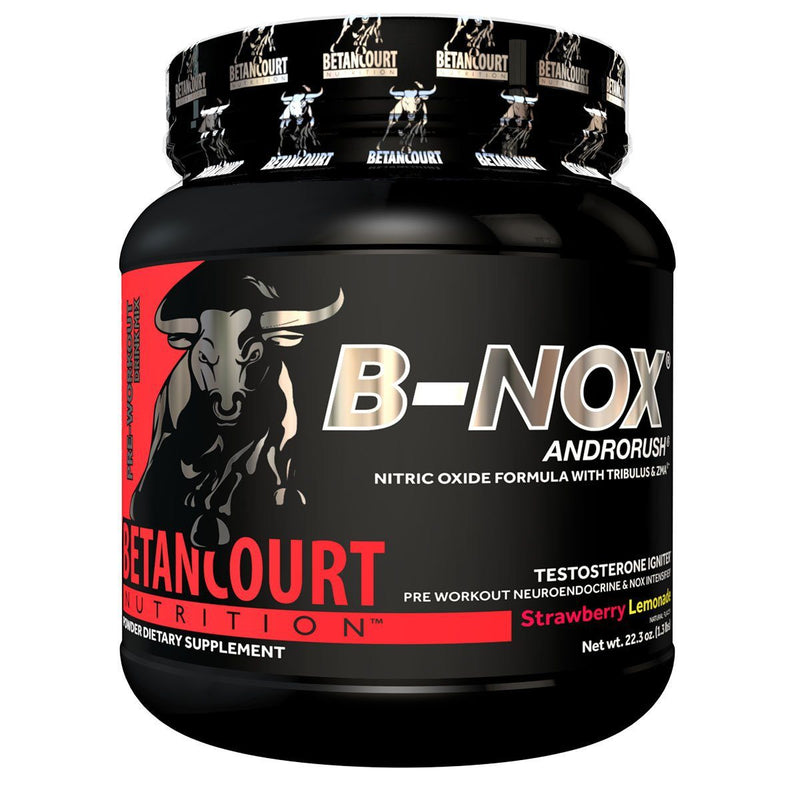 Betancourt Nutrition B-NOX Androrush Sports Performance Recovery Betancourt Nutrition Strawberry Lemonade  (1471149801495)