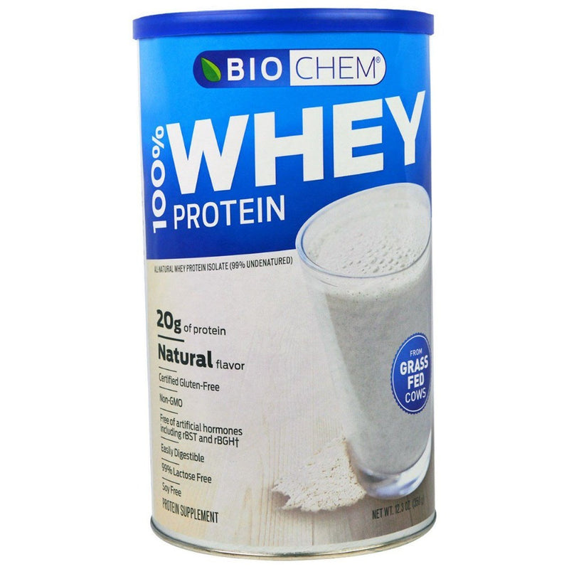 Biochem 100% Low Carb Whey Vanilla 1LBS Protein Powders Biochem  (3488625491991)