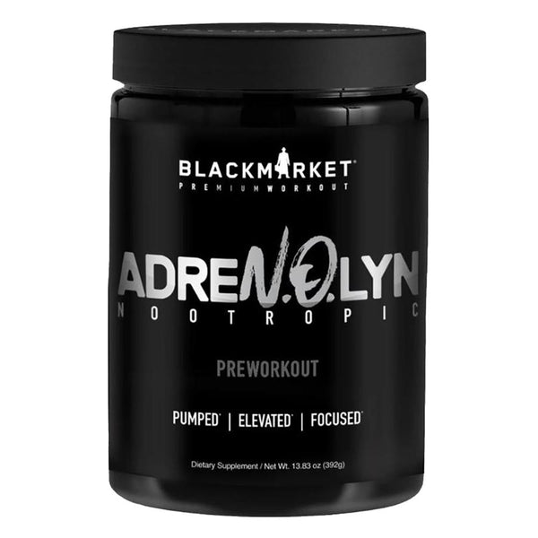 Black Market Labs Adren.O.Lyn Nootropic 25 Servings Pre-Workouts Black Market Labs Passion Orange Guave  (4337256824855)