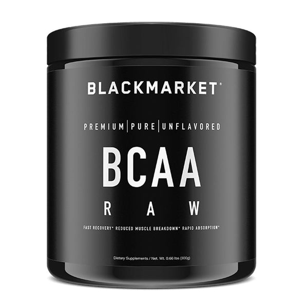Black Market Labs BCAA Unflavored 60/S Amino Acids Black Market Labs  (4337266327575)