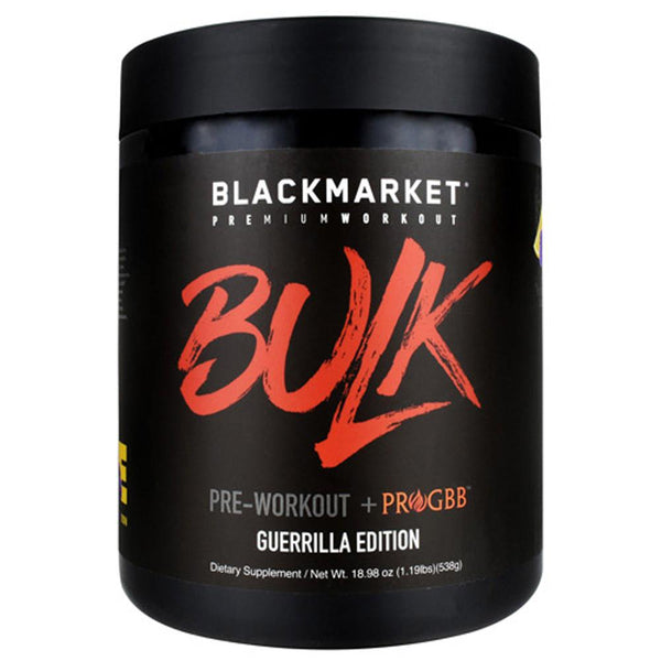 Black Market Labs Bulk 25 Servings Pre-Workouts Black Market Labs Guerrilla Edition Blue Razz LEmonade  (4337258790935)