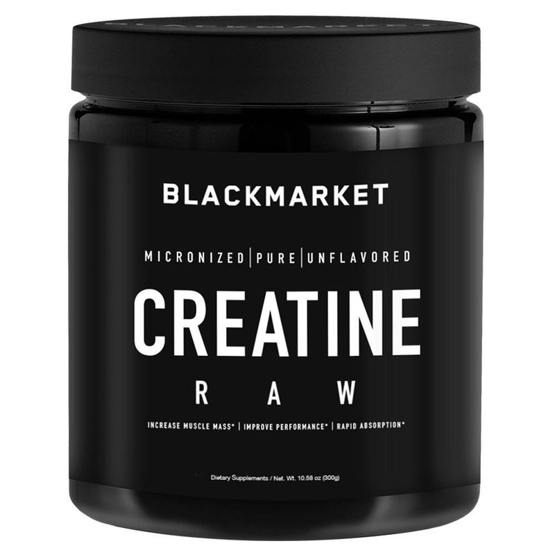 Black Market Labs Creatine 300g Creatine Black Market Labs  (4337266262039)