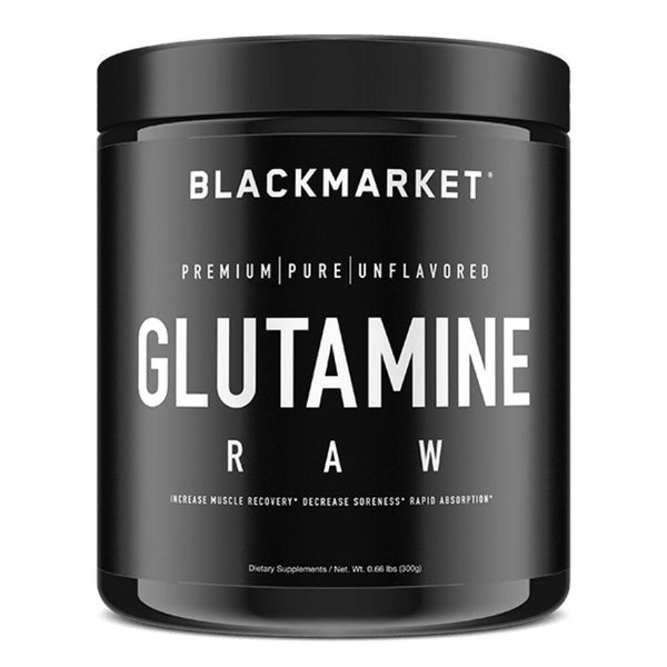 Black Market Labs Glutamine 300g Amino Acids Black Market Labs  (4337265213463)