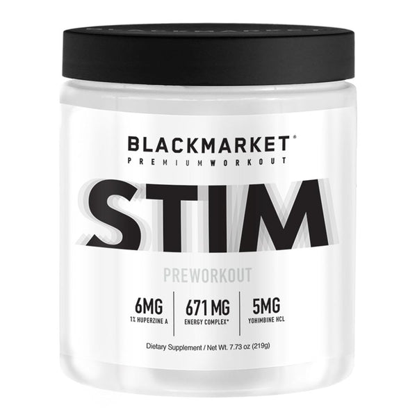 Black Market Labs Stim 30 SV Pre-Workouts Black Market Labs White Noise  (4337263738903)