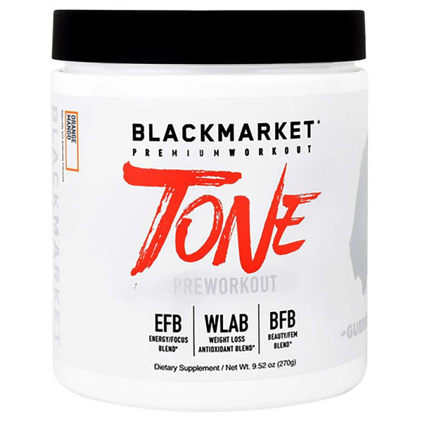 Black Market Labs Tone 30 SV Fat Burner Black Market Labs Orange Mango  (4337264918551)